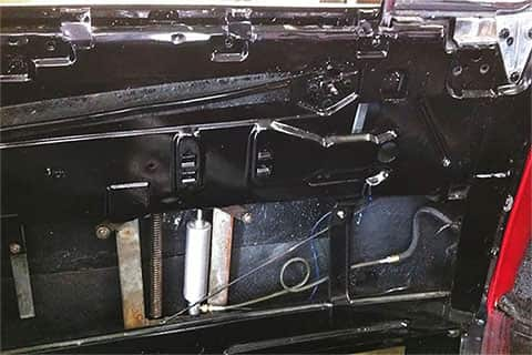 Power window assembly