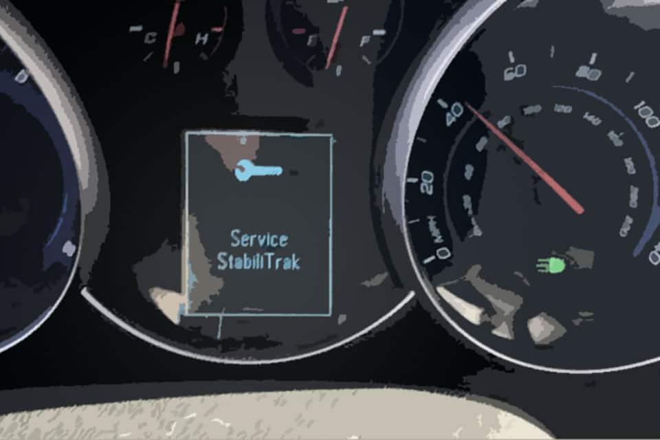 Service Stabilitrak console warning light