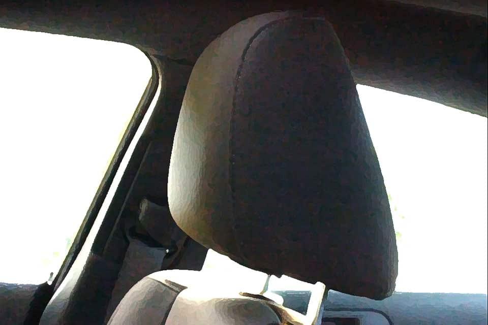 A Chrysler head restraint