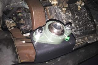 Dismantled suspension component