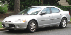 Chrysler Sebring and Dodge Stratus Recalled to Fix Sun Visors