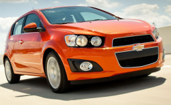 Chevy Sonic Recalled Due to Windshield Washer Hose