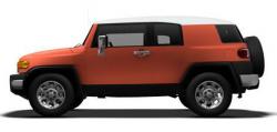 toyota recalls fj cruiser for seat belt failure from slamming rear door shut. Black Bedroom Furniture Sets. Home Design Ideas
