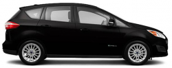 Side view of a black C-Max Hybrid
