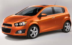 GM Recalls Chevy Sonic For Risk of Gas Tank Fire