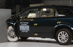 Seven SUVs Confront The Small Overlap Crash Test