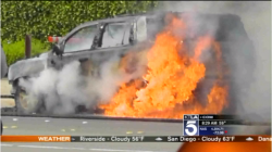 New 2015 GMC Yukon Goes Up in Flames During Test Drive