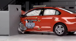 Automakers Take 'Small Overlap Crash Test' Very Seriously