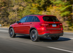 Mercedes-Benz Recalls GLC300 SUVs Over Wiring Problems