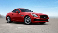 Mercedes-Benz SLK300 Recalled For Roll Away Risk