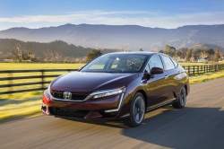 Honda Recalls Clarity Fuel Cell Cars, All in California