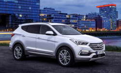 Hyundai Santa Fe Recalled to Fix Seat Belt Alarms