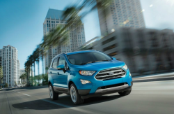 Ford Recalls EcoSports in U.S. Federalized Territories