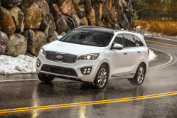 Kia Sorento Recalled to Replace Side Curtain Airbags