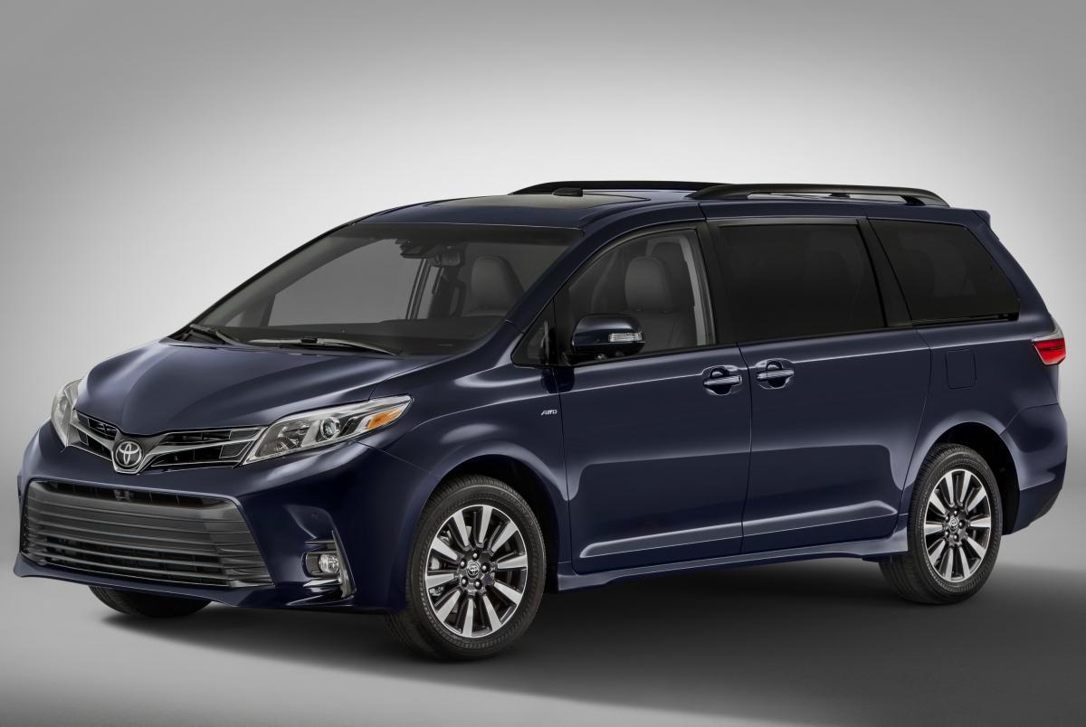 Toyota Recalls Sienna Minivans Equipped With 10-Spoke Wheels ...