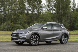 Infiniti Recalls QX30 For Seat Belt Problems
