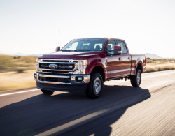 Ford F-250 and F-350 Front Axle Recall