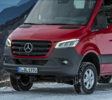 Mercedes Sprinter Vans Have High-Beam Headlight Problems