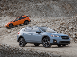 Subaru Crosstreks Recalled For Seat Belt Problems
