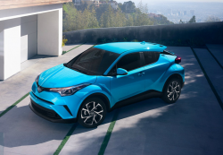 Toyota C-HR Rear Wheels Could Detach From the SUVs