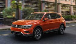 Volkswagen Recalls Tiguans For Wrong Tire Labels