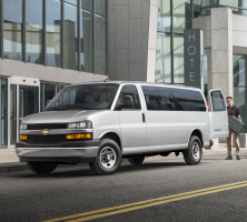 Chevrolet Express and GMC Savana Owners: Park Outside