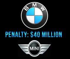 BMW In Trouble Again, Will Pay $40 Million Penalty