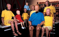The Car Crash Test Dummy is No