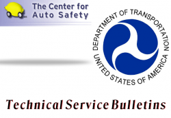 Center for Auto Safety Sues Over 'Technical Service Bulletins'