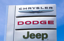 Chrysler, Jeep, Dodge Sign