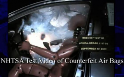 Government Warns About Exploding Counterfeit Air Bags