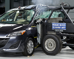 "Only One Small Car Out of 12 Rates ""Good"" In Crash Test"
