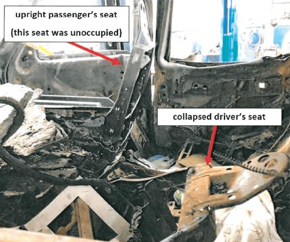 Deanna Gilreath Collapsed Seat