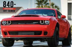 Dodge Demon Hood Scoop Lawsuit Says Hoods Warp