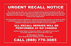Fake Recall Notices Get Car Dealers Into Trouble With the FTC