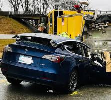 Fatal Tesla Model 3 Crash Into a Firetruck Investigated