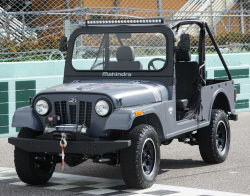 Mahindra ROXOR Is Too Similar to a Jeep, Judge Finds