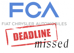 Fiat Chrysler Missed Legal Deadline in 5 Recalls