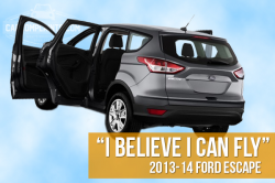 582,000 Ford Escapes Recalled For Doors That Fly Open While Driving
