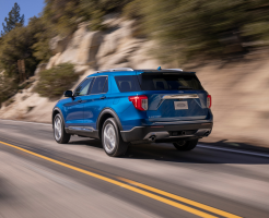 Ford Recalls 17 Explorers For Risk of Fires