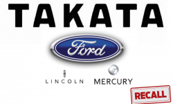 Ford Recalls 816,000 Vehicles to Replace Takata Airbag Inflators