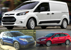 Ford Recalls 8,500 Cars, Trucks, Vans and SUVs