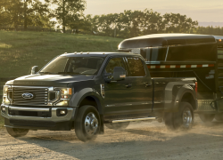 Ford Recalls F-Series Super Duty Trucks With LED Headlights
