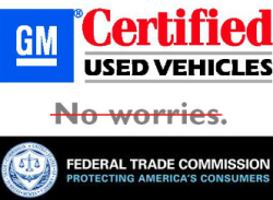 Federal Trade Commission Investigating GM Used Car Sales
