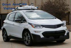 GM Sued After Motorcycle and Self-Driving Chevy Bolt Collide