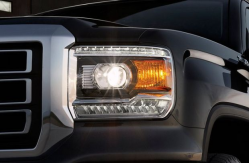 gmc sierra headlight lawsuit says headlights are too dim. Black Bedroom Furniture Sets. Home Design Ideas