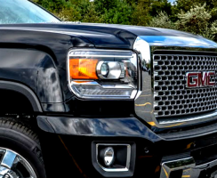 gmc sierra headlight lawsuit continues in california. Black Bedroom Furniture Sets. Home Design Ideas
