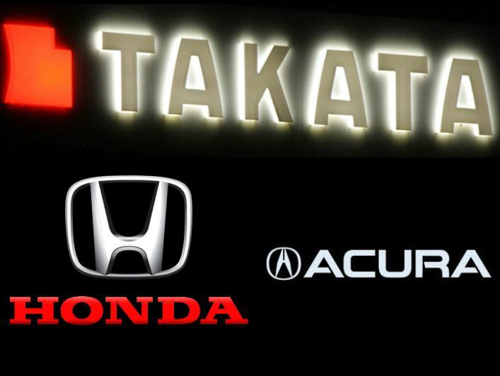 Takata Airbags Cause Honda To Recall 2 2 Million Vehicles
