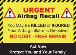 Mesa, Arizona: Honda Civic Driver Killed by Takata Airbag