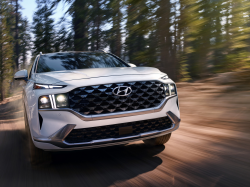 Hyundai Santa Fe SUVs Recalled For Airbag Problems
